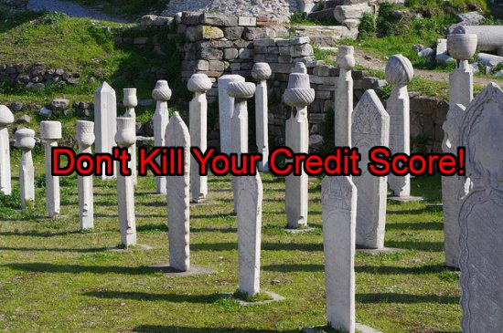 Don't kill your credit with sloppy mistakes Image Source: Flickr User  Ken and Nyetta